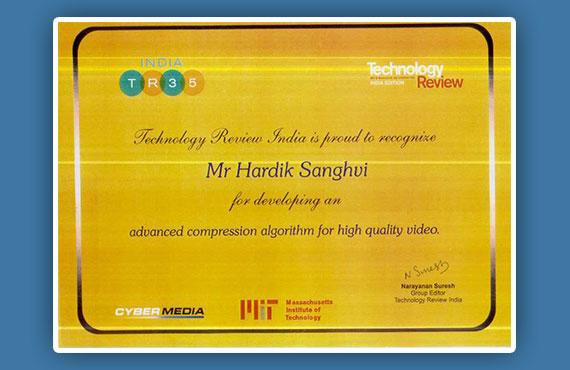 VMukti TR35 Award