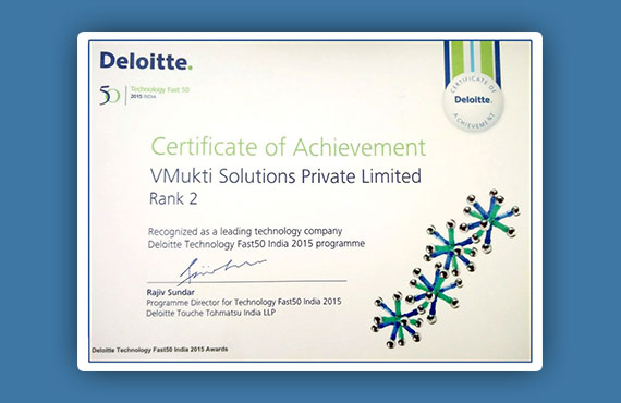 Deloitte Technology Fast50 Awards 2014