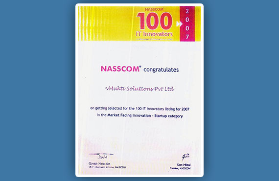 Nasscom 100 IT Innovators 2007