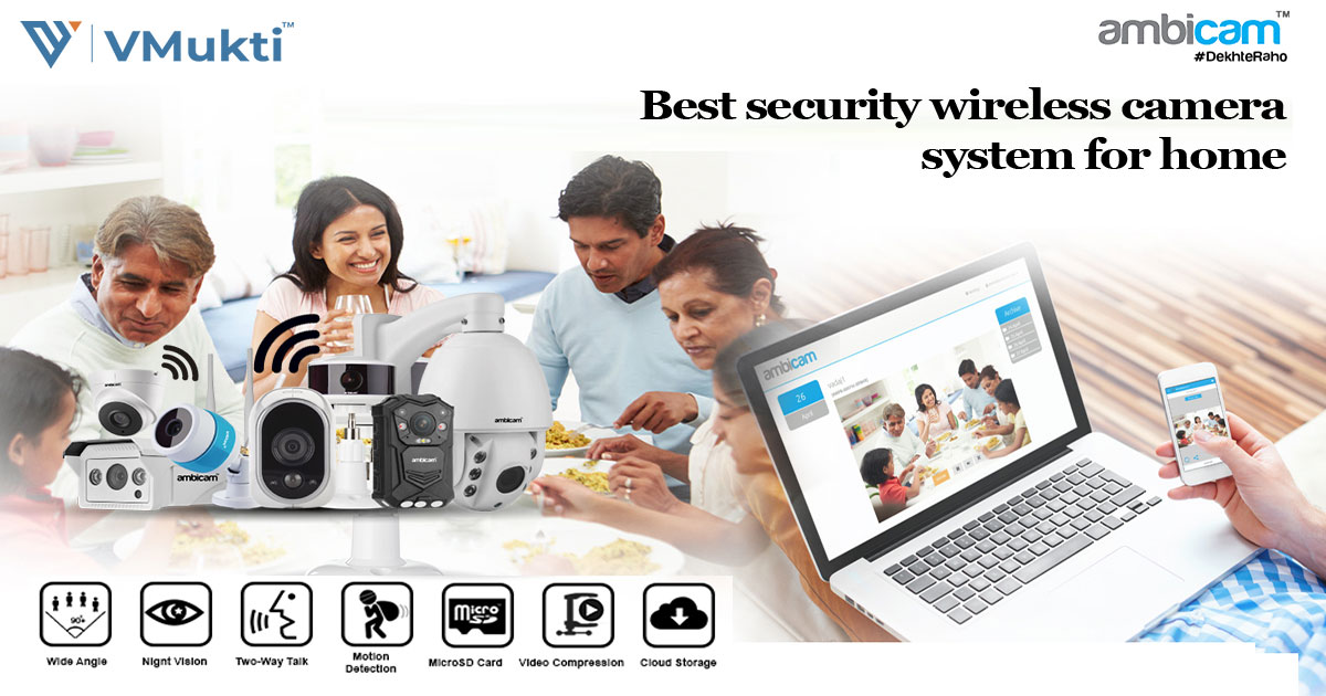 Best Security Wireless Camera System for Home