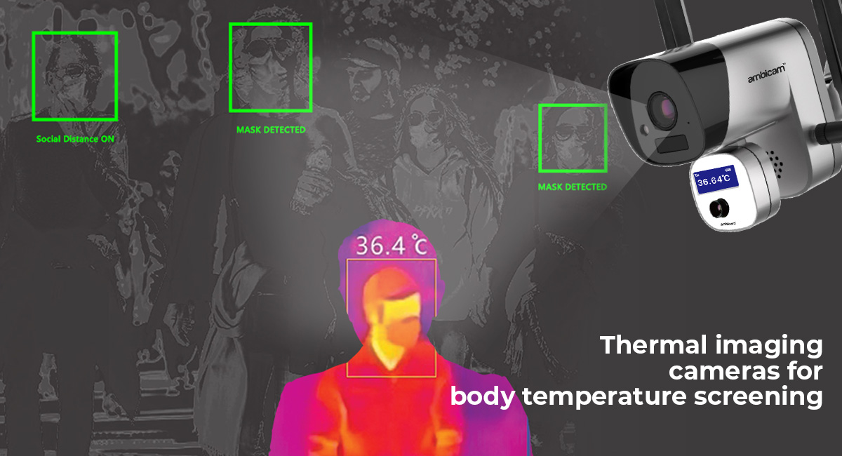thermal imaging cameras for body temperature screening